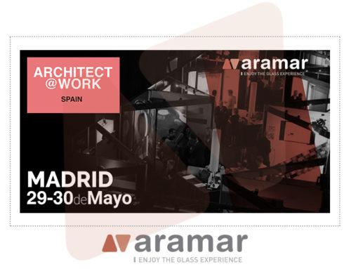 Aramar wird seine neuen Produkte auf der Architect@Work präsentieren.